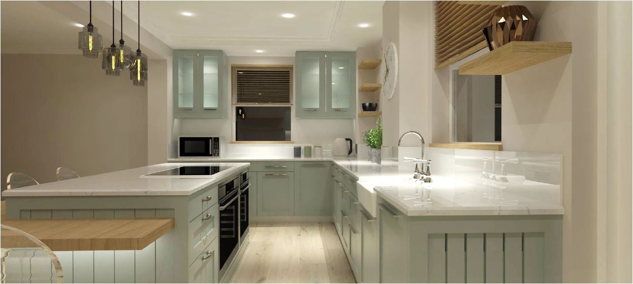 Kitchen design Holloway and Hound