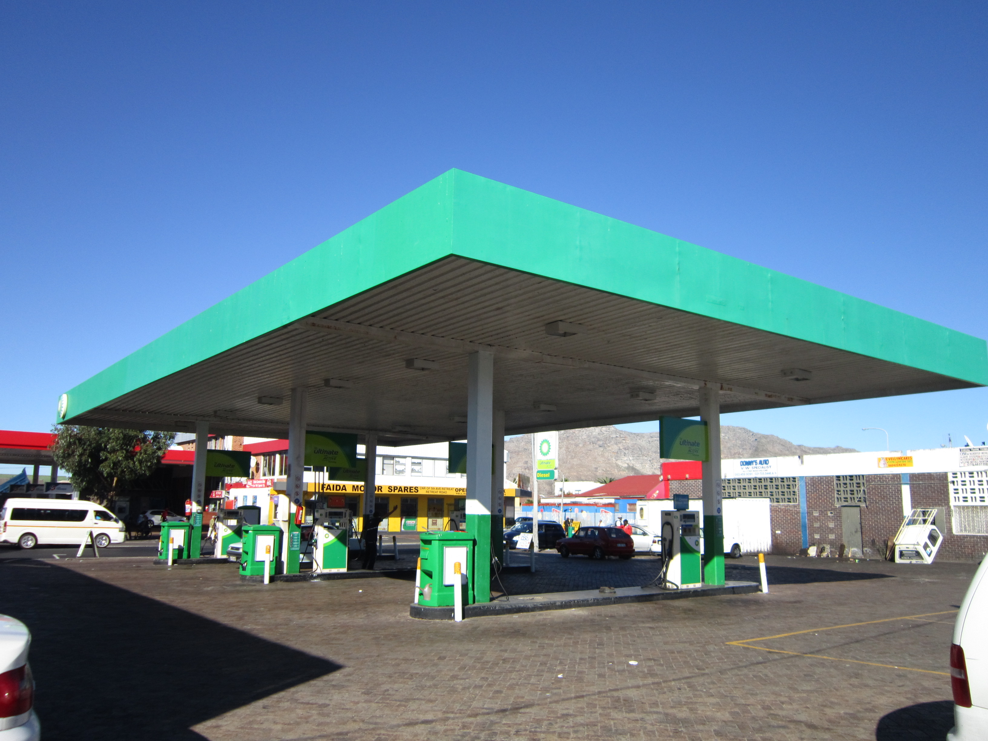 Holloway hound bp fuel station upgrade for Kitchen bins cape town